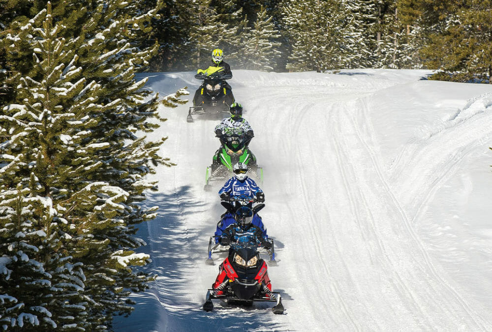 Hit the Cadillac Snowmobile Trails – Video Post