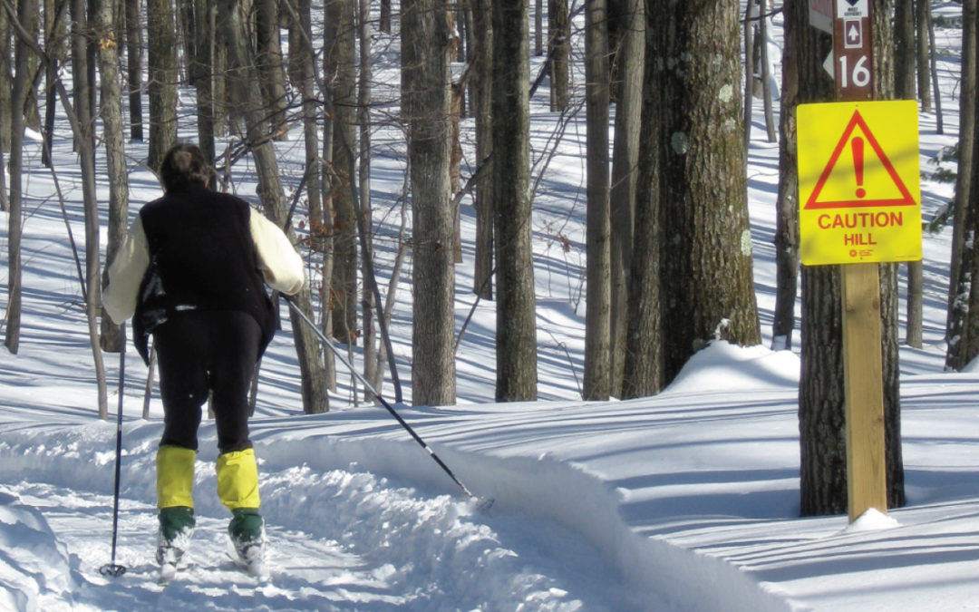 Horizontal Glide – XC Skiing in Cadillac