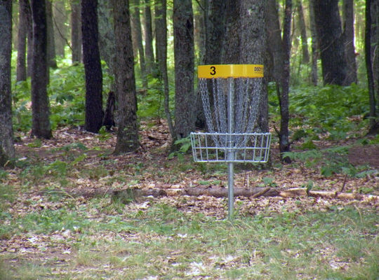 Udell Rollways Disc Golf Course