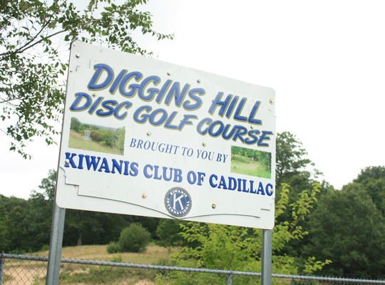 Diggins Hill Disc Golf Course