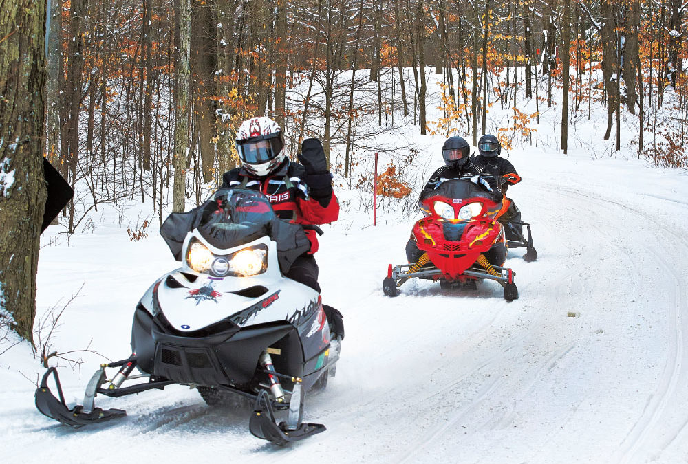 Snowmobiling Trail Report