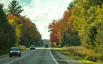 Fall scenic route
