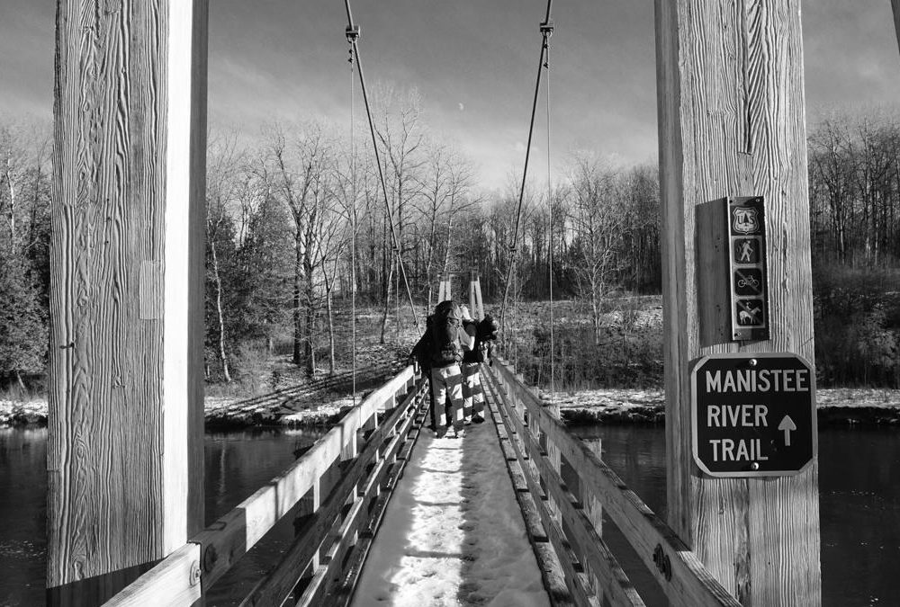 Manistee River Trail Loop Backpacking Trip December 14-16, 2018