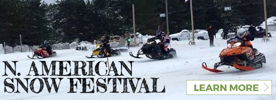 Link to the North American Snow Festival held in Cadillac