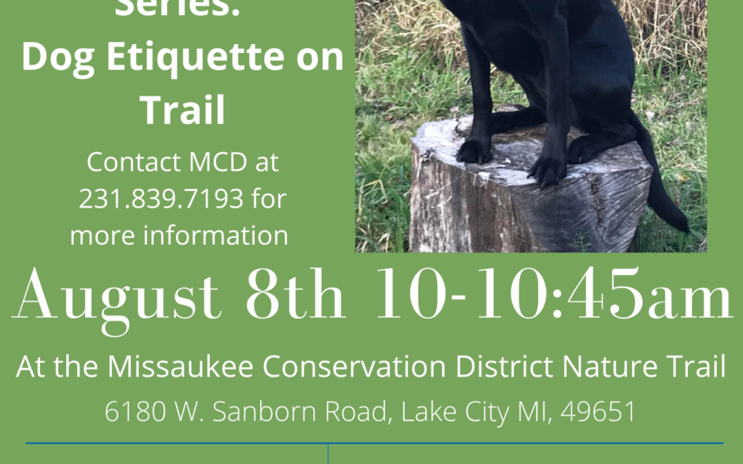 On The Trail Series: Dog Etiquette on Tails