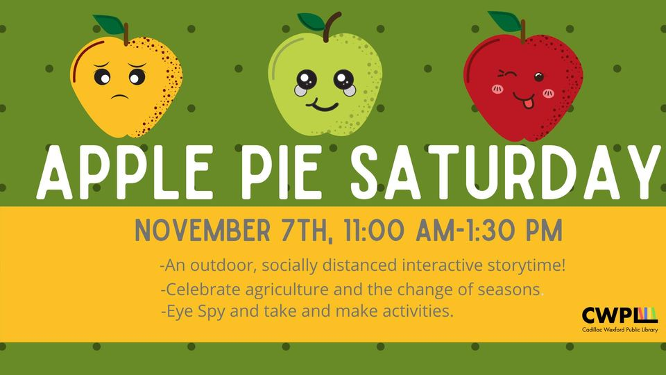 Apple Pie Saturday