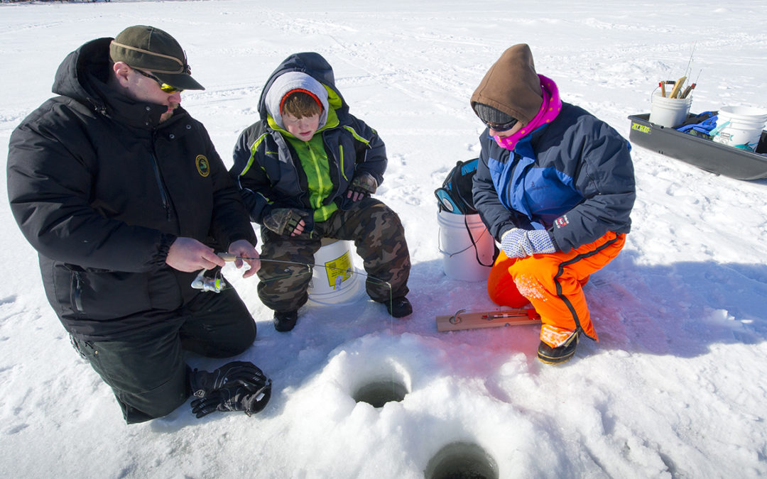 Advanced Hard Water School – Ice Fishing Class