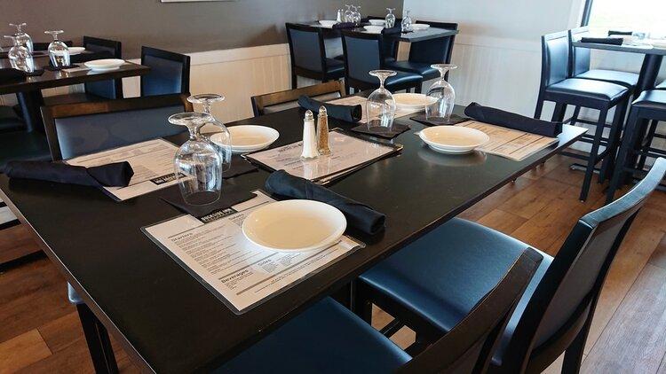 Dockside dining room