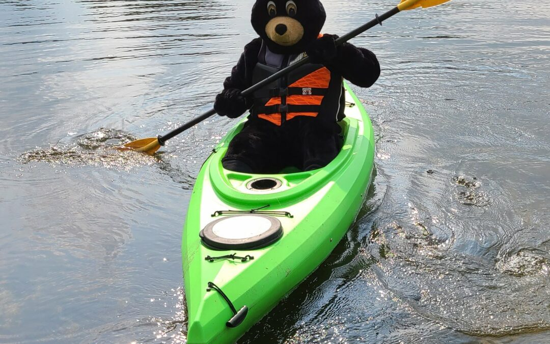 A to Z with Caddy: P is for Paddlesports