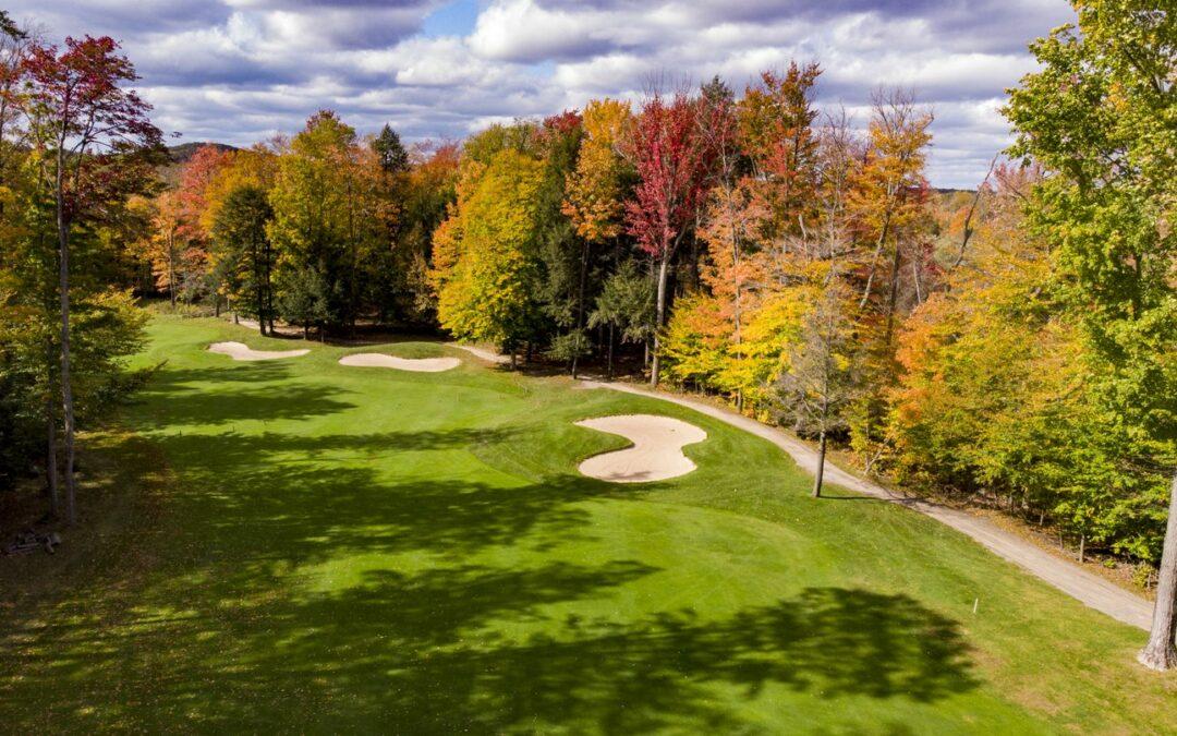 Fall Golf in Cadillac