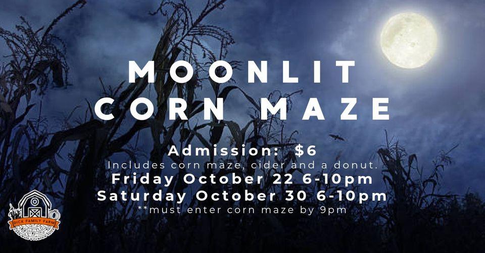 Dick family Farm Moonlit Corn Maze