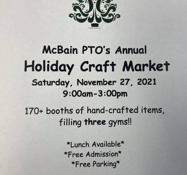 McBain PTO's Annual Arts and Craft Show